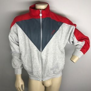 Vintage Adidas Full Zip Fleece jacket 80s 90s